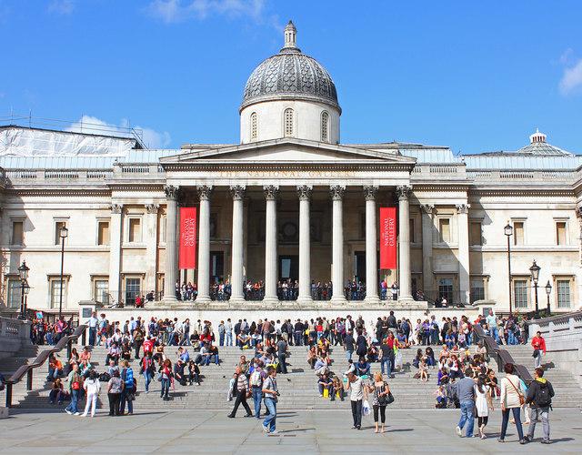 National Gallery. Foto:  Wikimedia Commons autor Wayland Smith